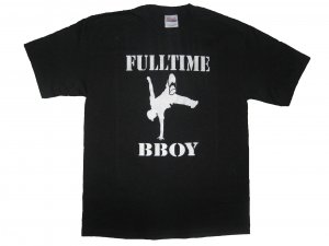 Full-Time Bboy Black - Large