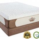 "Dynasty Mattress! 12"" KING CoolBreeze High Quality GEL Memory Foam Mattress with FREE 2 Gel Pillows"