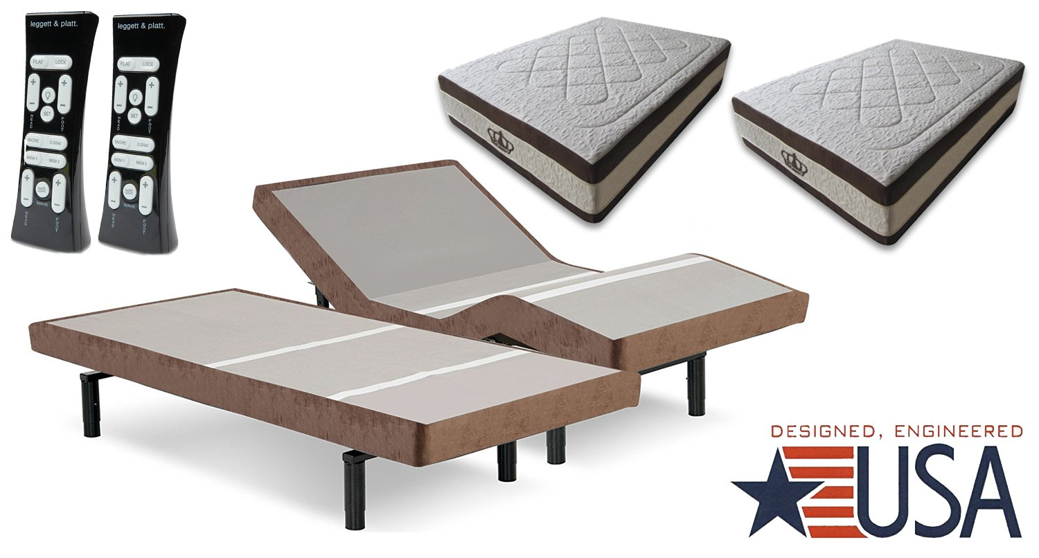 Dynasty Mattress 15 5 Quot Gel Adjustable Bed Scape 2 0