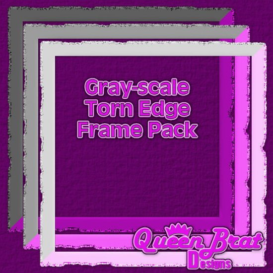 Torn-edged Frames