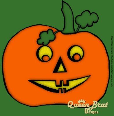QueenBratDesigns_pumpkinglow