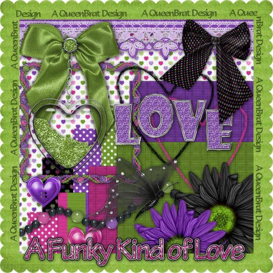 A Funky Kind of Love Scrappers Kit