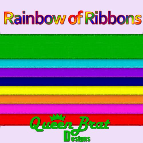 Rainbow of Ribbons