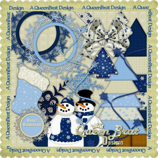 A Winter Wonderland Scrappers Kit