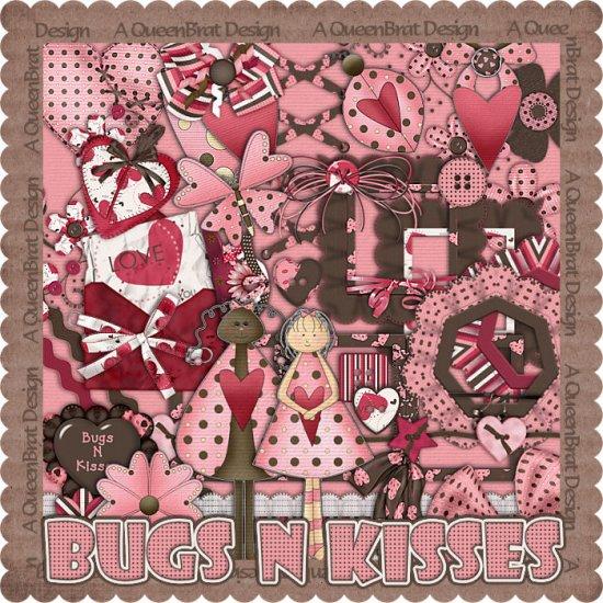 Bugs N Kisses Scrappers Kit