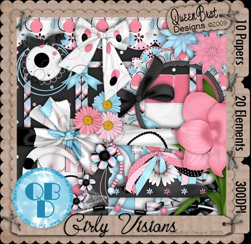 Girly Visions Scrappers