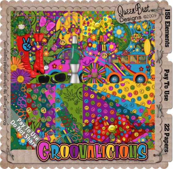 Groovalicious Scrappers Kit