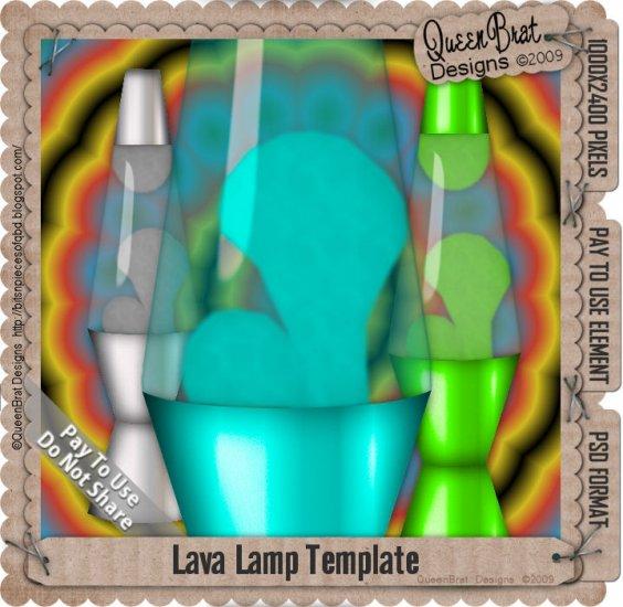 Lava Lamp Template