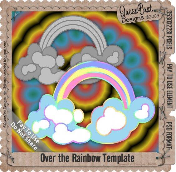 Over the Rainbow Template