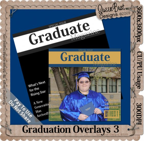 Graduation Overlay Pack 3