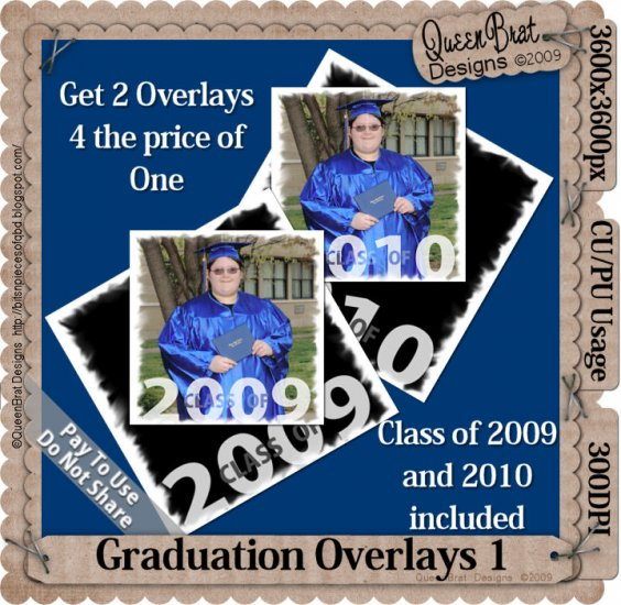 Graduation Overlay Pack 1