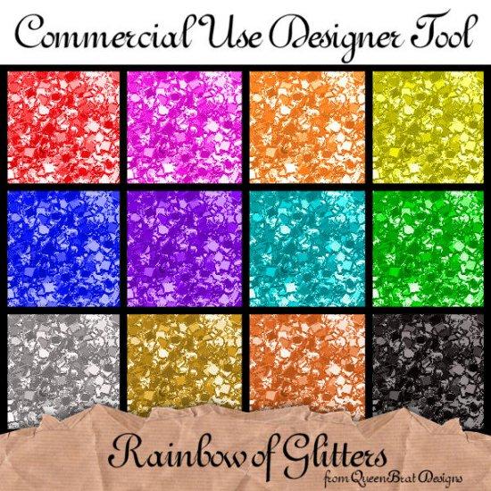 Rainbow of Glitters
