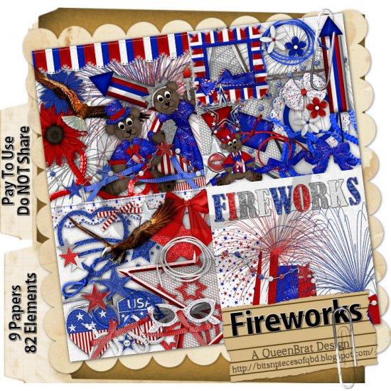 Fireworks Scrapper