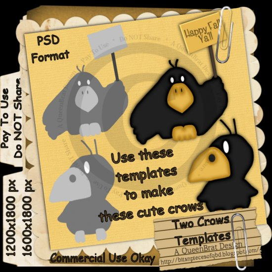 Two Crows Templates