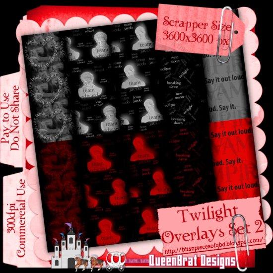 Twilight Overlays Set 2 Scrapper