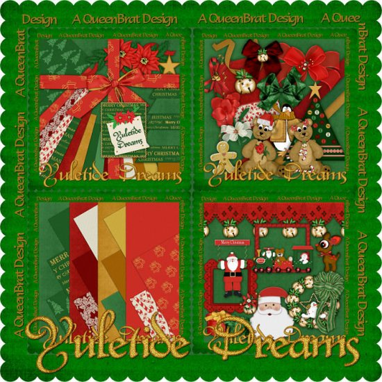 Yuletide Dreams Scrappers Kit
