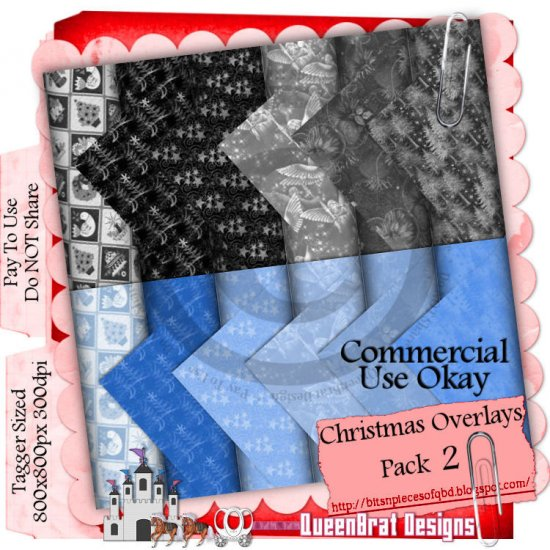 Christmas Overlays 2009 Taggers Pack 2