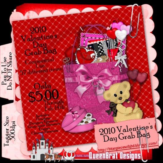 2010 Valentine's Day Grab Bag Tagger