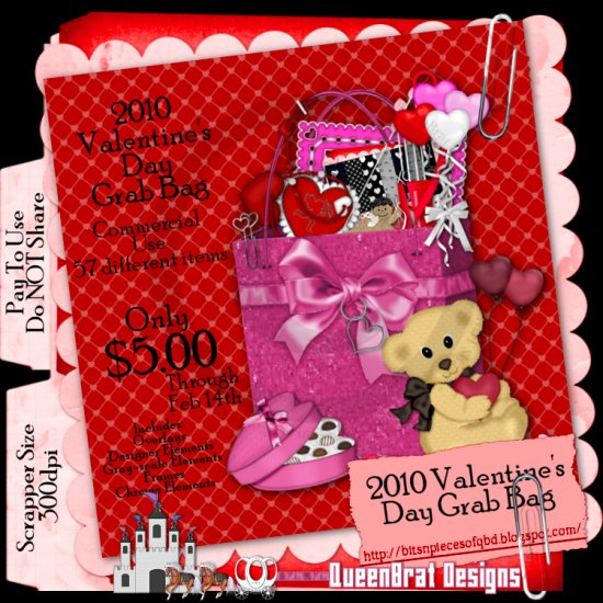 2010 Valentine's Day Grab Bag Scrapper