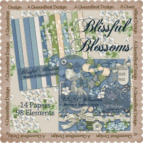 Blissful Blossoms Scrappers Kit