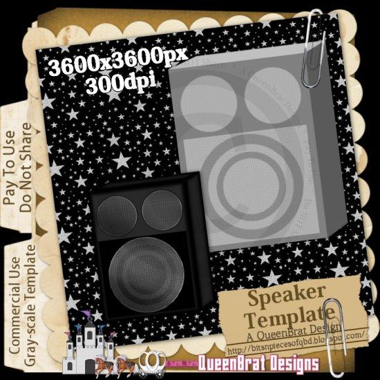 Speaker Template