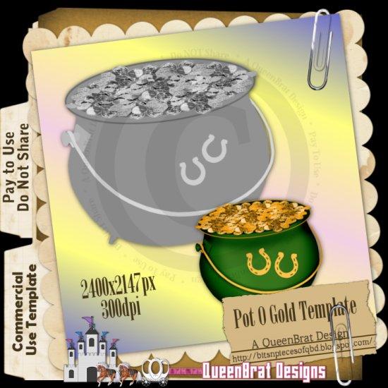 Pot O Gold Template