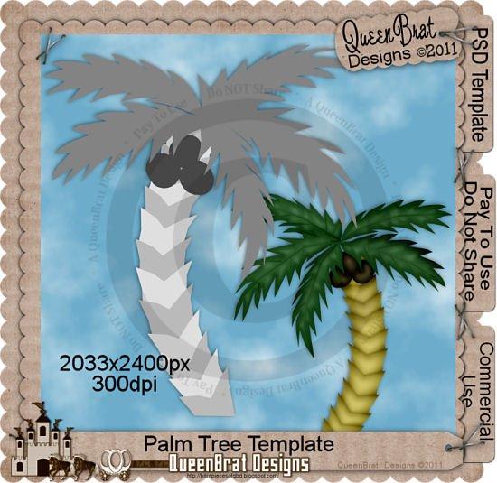 Palm Tree Template