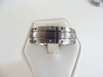 Men's Titanium Band Style Ring size 9.5