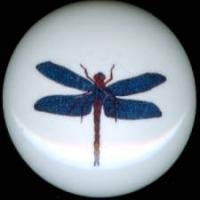 DRAGONFLY Dragon Fly #5 Ceramic Drawer Knobs