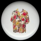 Tropical HAWAIIAN SHIRT #4 Ceramic Knobs Pulls Free S/H