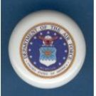 United States Air Force USAF ~ Ceramic Drawer Knobs Pulls