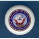 United States NAVY USN ~ Ceramic Drawer Knobs Pulls Free S/H