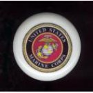 United States MARINE CORPS USMC ~ Ceramic Drawer Knobs Pulls Free S/H