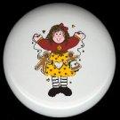 Prim RAG DOLL GINGERBREAD #2 Ceramic Drawer Knobs Pulls FREE S/H