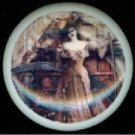 Victorian STEAMPUNK Fancy LADY Ceramic Drawer Knobs