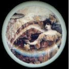 Another Victorian Zombie STEAMPUNK Fancy LADY Ceramic Drawer Knobs