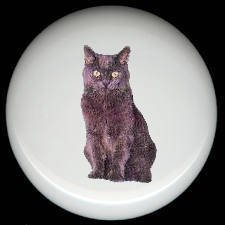 Domestic House CAT #9 ~ Ceramic Drawer Knobs