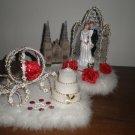 wedding cake topper decoration