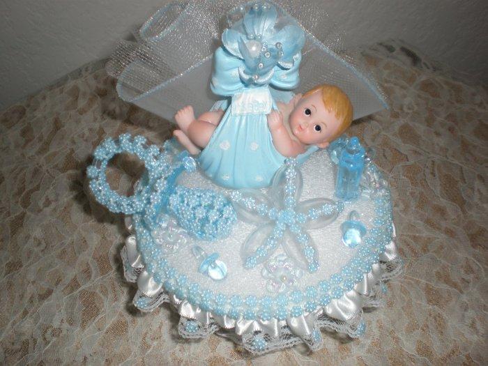 baby boy cake topper party favor suvenier