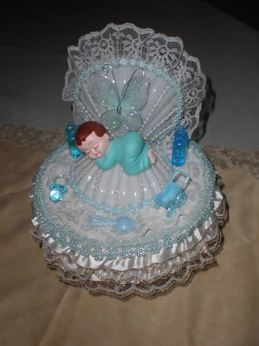 baby shower cake topper party favor decoration