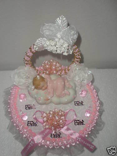 BABY SHOWER CAKE TOPPER DECORATION PARTY FAVOR SUVENIER