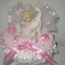 personalized baby girl 1st birthday cake topper