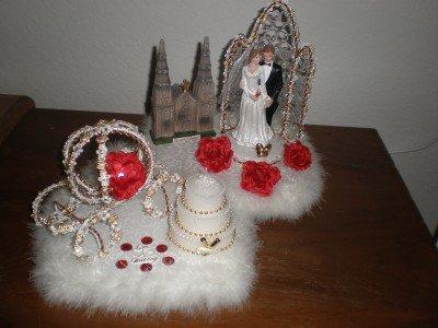 WEDDING/ANNIVERSARY/PARTY CENTERPIECE DECORATION