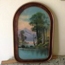 CENTURY FRAMED SIGNED FRENCH IMPRESSIONIST LANDSCAPE OIL - LARUE