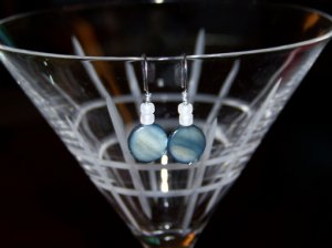 Jet Shell Earrings