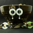 Cathie Bracelet and Earrings Set - Custom Design - Pick Your Own Colors