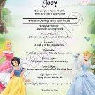 First Name Meaning - Disney Princess Background v1