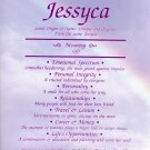 First Name Meaning -Pastel Rainbow Vertical