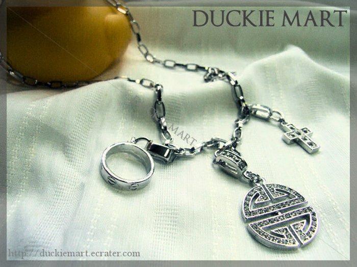 BRAND NEW Stylish Designer Oriental Rhinestone Necklace