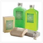 SPA  LIME  AND MINT SET IN BASKET